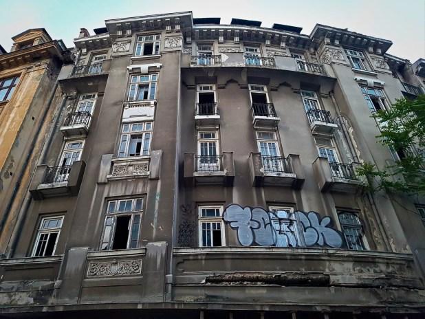 Bucharest Hotel Urban Ruins
