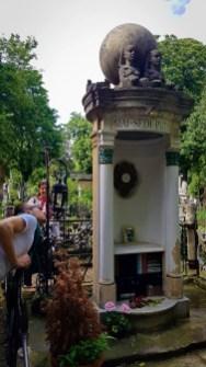 Iulia Hasdeu's Grave in Bellu Cemetery #2