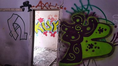 Palatul Adevarul Street Art #5