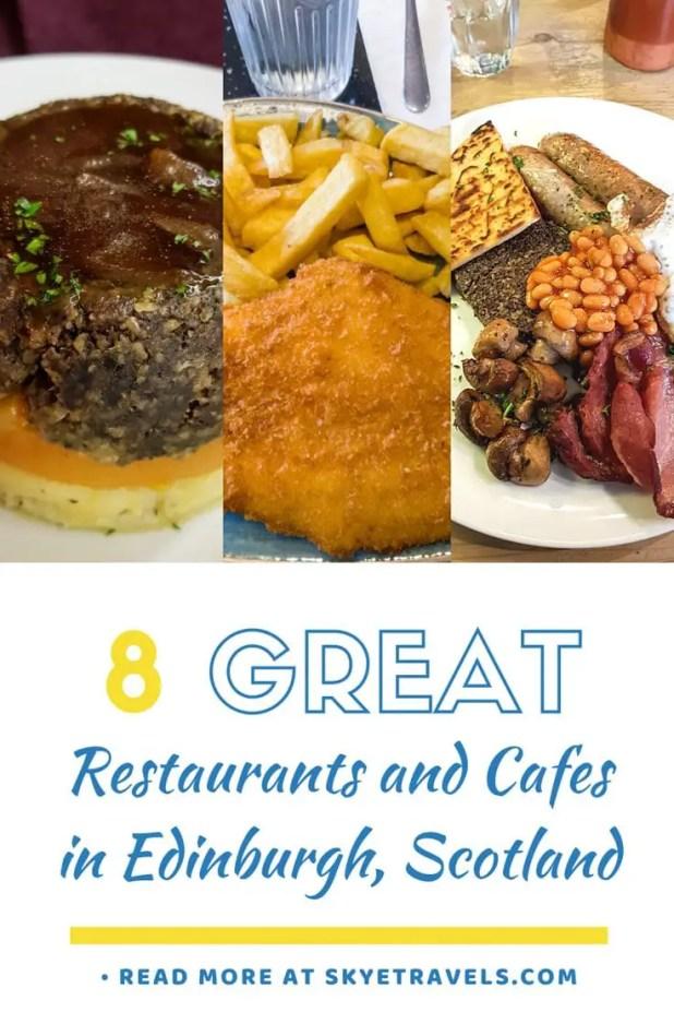 Restaurants in Edinburgh Pin