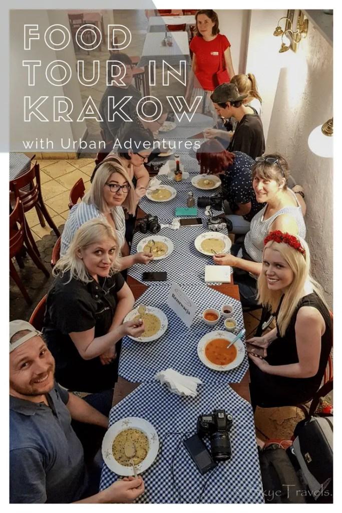 Food Tour in Krakow Pin