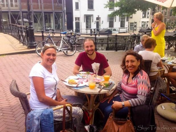 Lunch with Couchsurfing Host in Schiedam