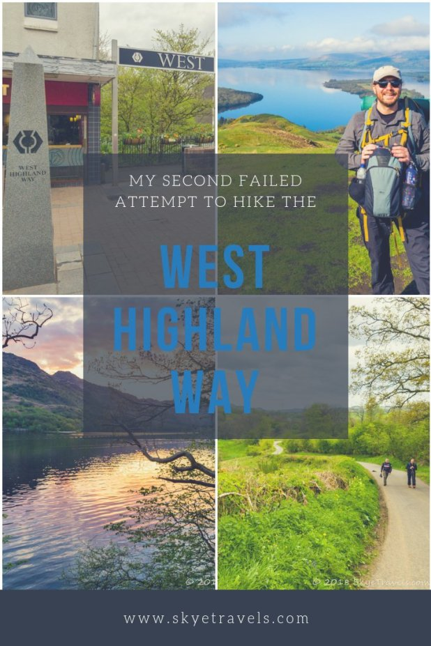West Highland Way Pin