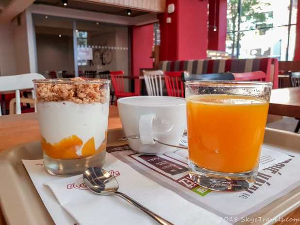 Breakfast at Crosscafe in Ostrava