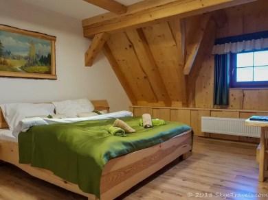 Emil Zátopek-Maraton mountain cottage Bedroom