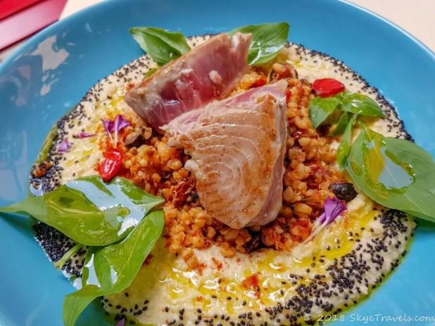 Tuna Salad at Hogo Fogo