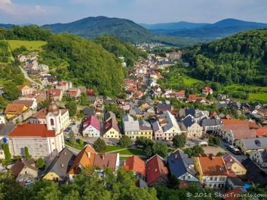 View from Stramberk Tower