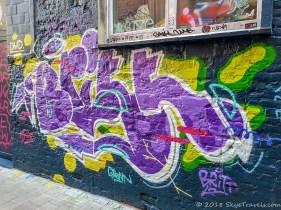 Graffiti Alley in Ghent #14