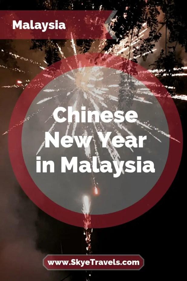 Chinese New Year in Kuala Lumpur Pin