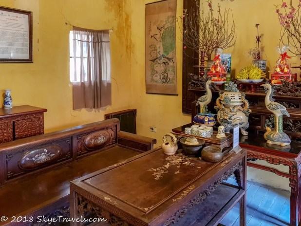 Hanoi Ancient House Altar to the Ancestors