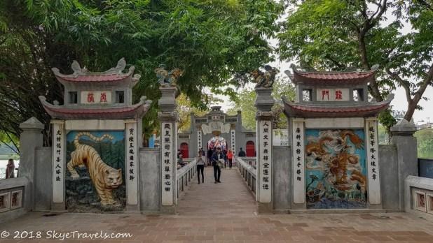 Ngoc Son Temple Attractions in Hanoi