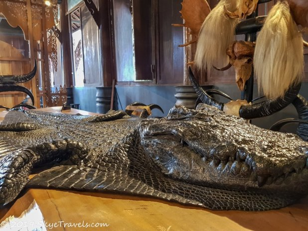 Black House Museum Main Building Alligator