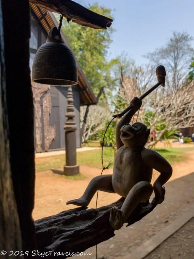 Black House Museum Monkey