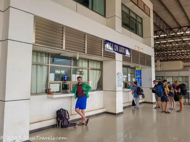 Laos Visa on Arrival Windows