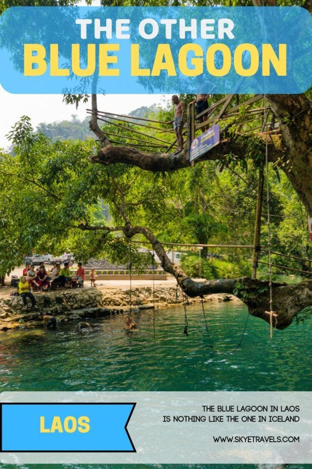 The Blue Lagoon in Laos is Nothing Like the One in Iceland 2