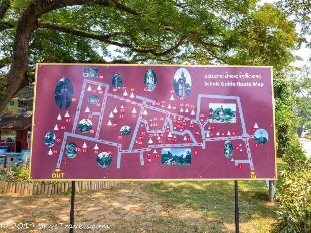 Buddha Park Map