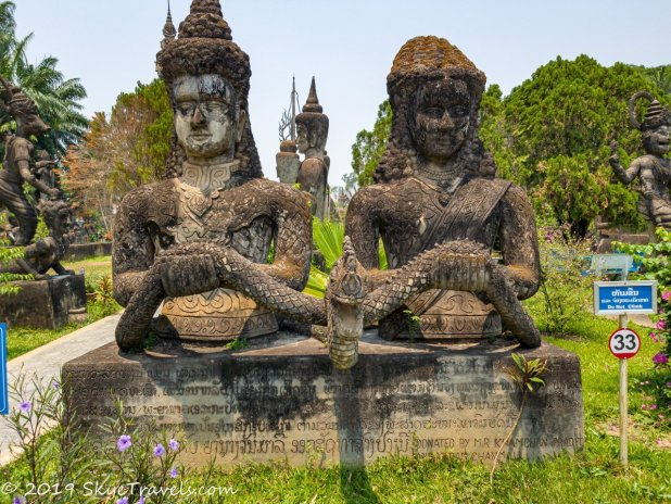 A Virtual Tour of the Buddha Park in Vientiane, Laos 10