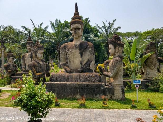 Buddha Park Statues #6
