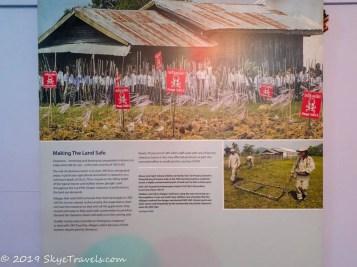 UXO Museum Information Board #12