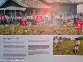 UXO Museum Information Board #13