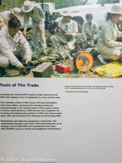 UXO Museum Information Board #2