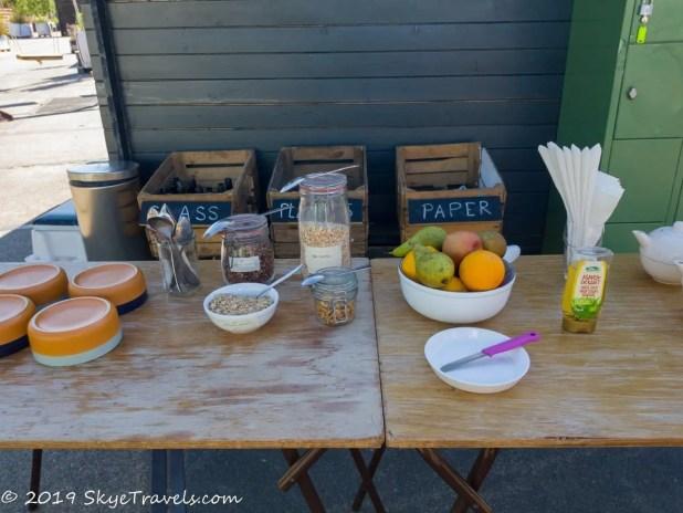 Culture Campsite Breakfast