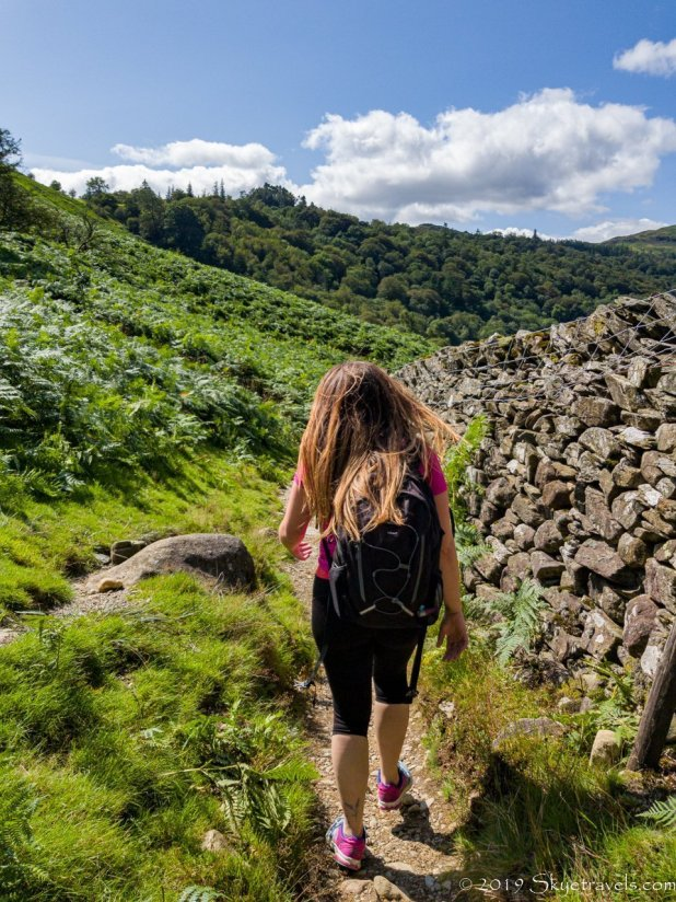 Laura Hiking in Grasmere
