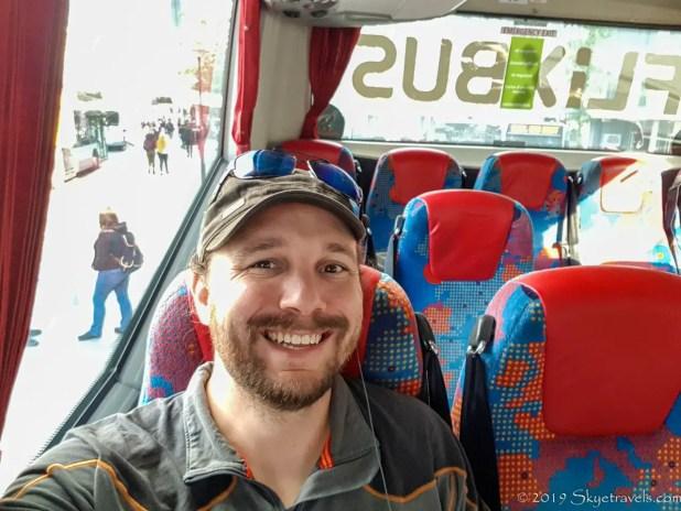Selfie on Flixbus