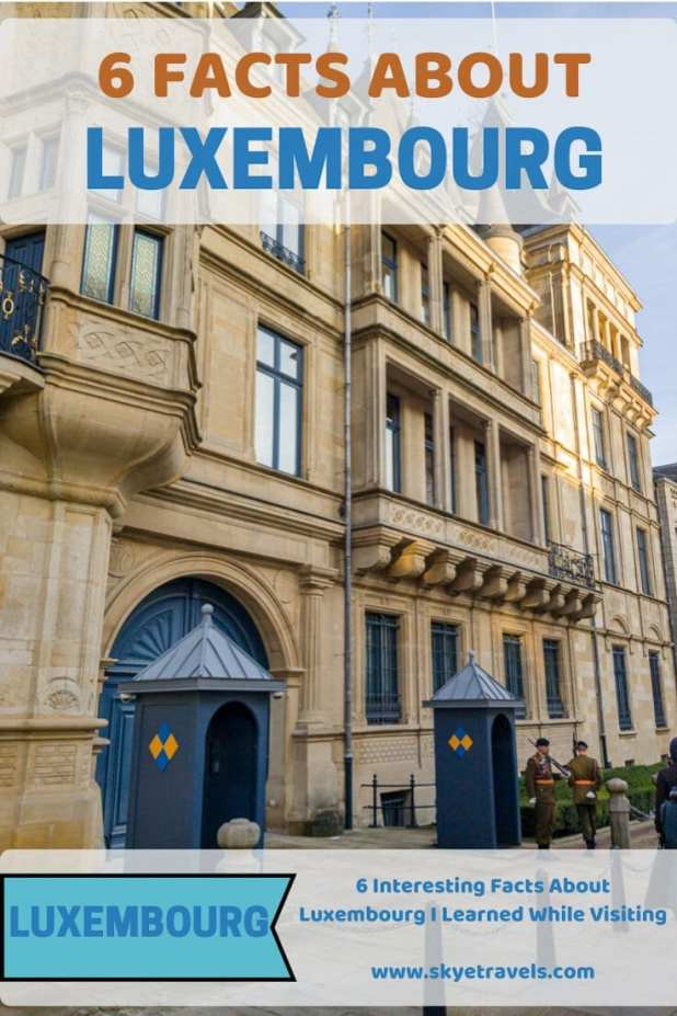 Facts About Luxembourg Pin