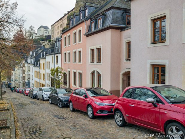 Fancy Houses and Cars in Luxembourg