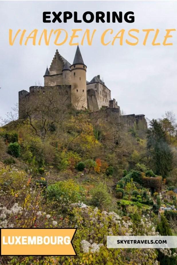 Vianden Castle Pin