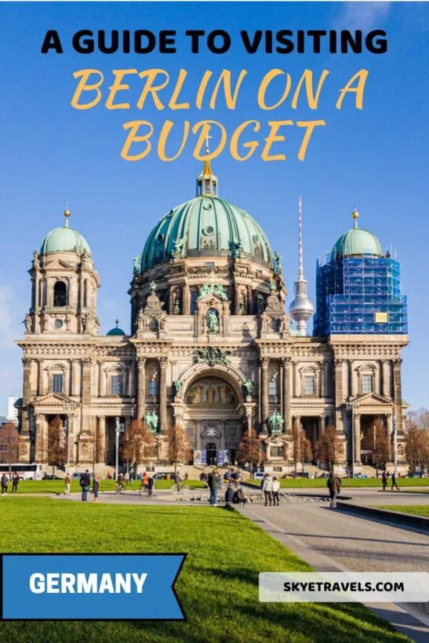 Berlin on a Budget Pin