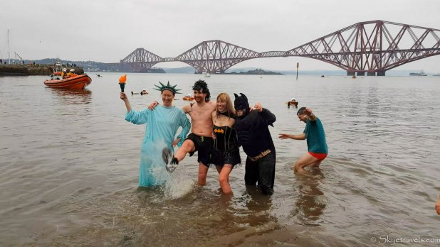 Four Friends at Loony Dook 2020