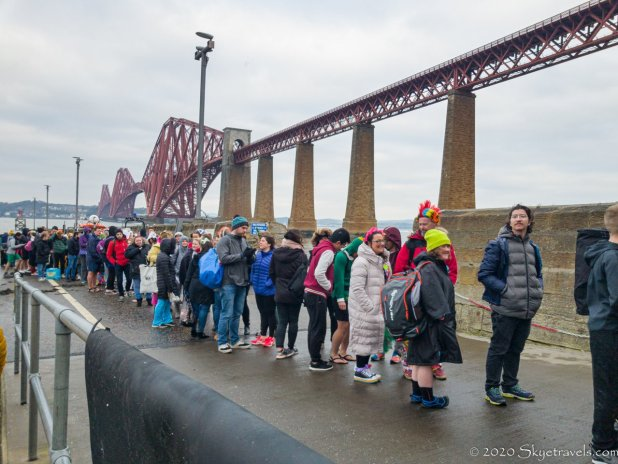 Registration at Loony Dook 2020
