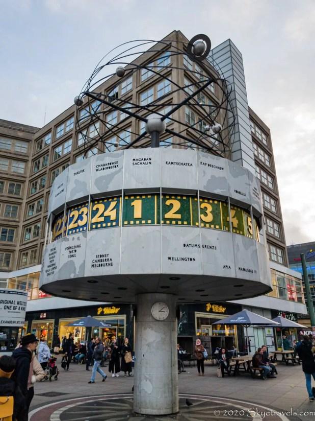 World Clock in Alexanderplatz