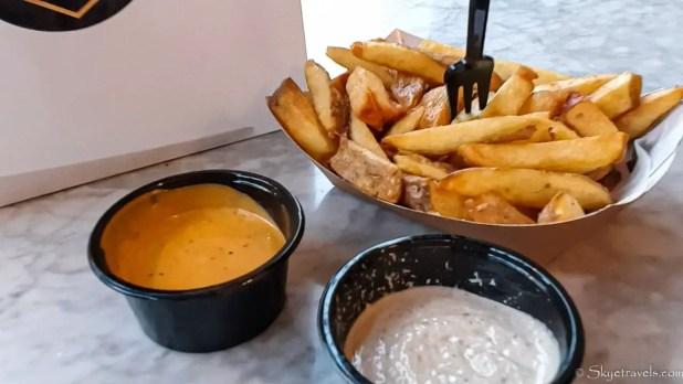 Fries at Frites Unique