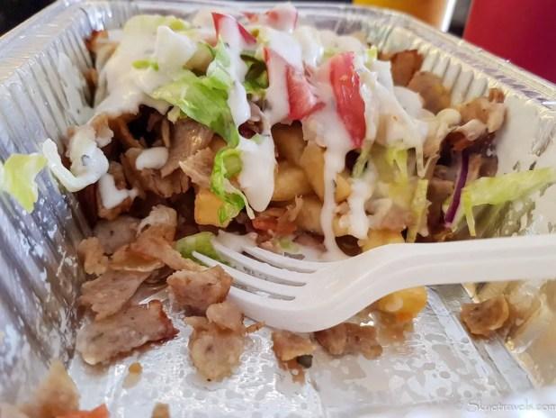 Kapsalon from HAS Doner Kebab