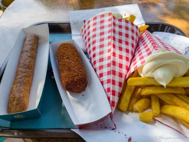 Kroquette and Frikandel