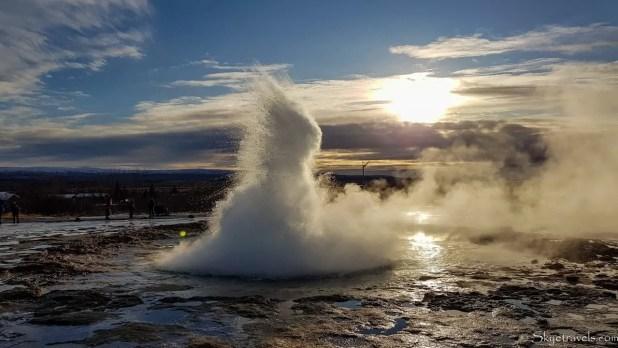 Strokkur Geyser on Iceland's Golden Circle