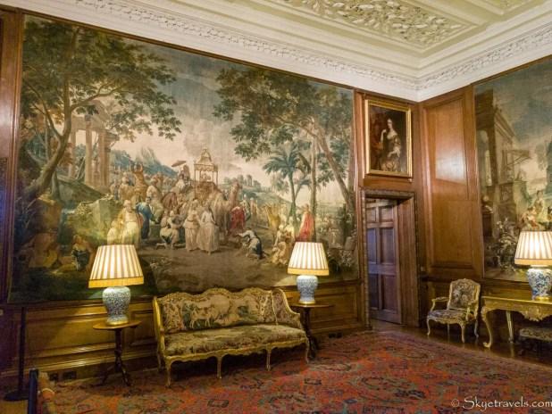 Holyrood Palace Presence Room