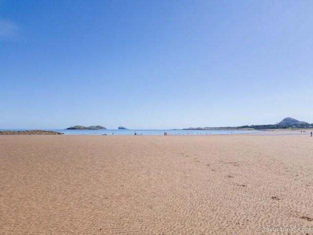 Broadsands Beach at Low Tide