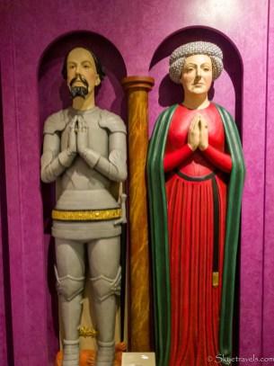 Callendar House Nobility Statues