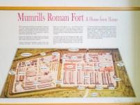 Mumrill's Roman Fort Panel