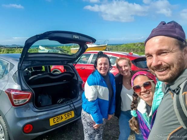 Selfie Hitchhiking in Northern Ireland