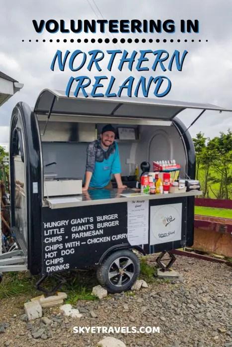 Volunteering in Northern Ireland Pin