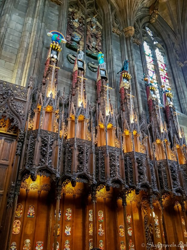 Thistle Chapel for Knights in St Giles Cathedral