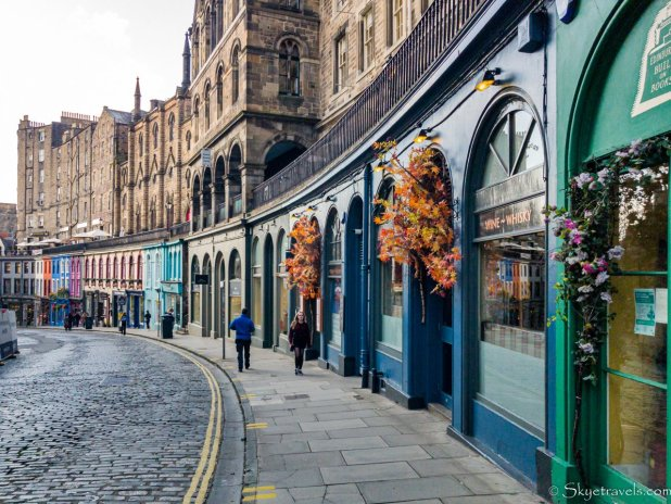 Victoria Street, the inpiration of Diagon Alley in Harry Potter