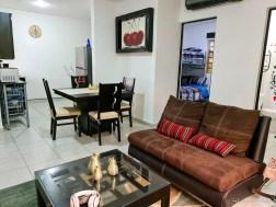 Kitchen of Airbnb in Puerto Morelos