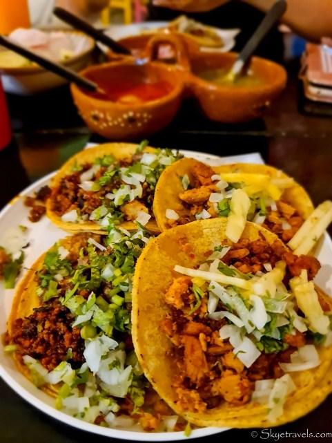 Tacos at Mariachi Tacos