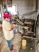 Tortilla Machine at Mercado Santiago